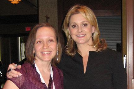 Me with Debbie Travis